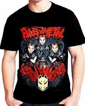T Shirts Funny Regular Custom Babymetal Baby Metal T-Shirt Men's Funny Cool T-Shirt Crew Neck Short-Sleeve Tee Shirt For Men