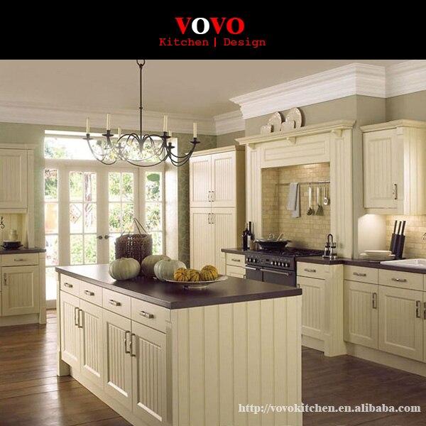 Mobili da cucina in legno massello di rovere bianco con stretta ...