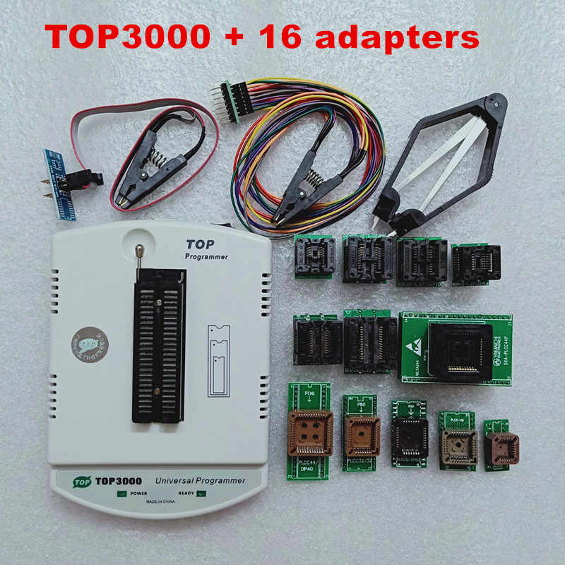 مبرمج عالمي TOP3000 لرقاقة MCU و Top-3000 USB ECU ضبط برمجة EPROMs