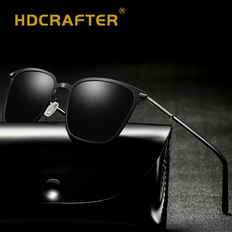 2019 sunglasses men polarized high quality sun glasses man mirrored alloy driving eye glasses for male gafas de sol hombres