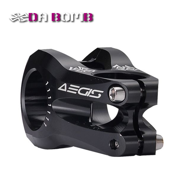 DABOMB AEGIS moutain bike stem MTB FR AM bicycle CNC Aluminum Anodized color stem 31.8mm 50mm length Black 10mm aluminum bike bicycle toothed headset stem spacer black
