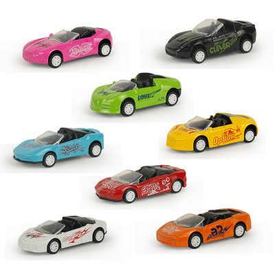 1Pcs Grote Pull Back Auto Model Auto Mode Verblinden Sport Speelgoed Auto Diecast Metalen Simulatie Voertuigen Speelgoed Voor Kinderen