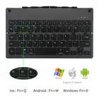 Ultrafino plegable Bluetooth teclado inalámbrico portátil plegable teclado batería de litio recargable para iPad Tablet - 3