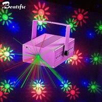 20 узор RGB вечерние лазерный свет проектора магический шар сценического освещения Эффект красочные ktv DJ Disco Light музыкой для дома декор