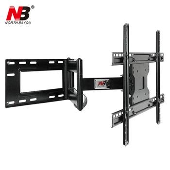 "NB SP2 Heavy Duty 40""-70"" Flat Panel LED LCD TV Wall Mount Full Motion Ultra Long Arm Swivel 180 Degree Wall Distance 110-712mm"