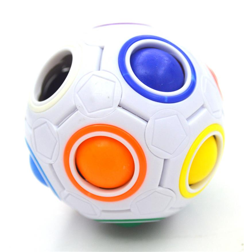 1pcs Fun Creative Spherical Magico Speed Stress font b Cube b font Ball Puzzles Educational Learning