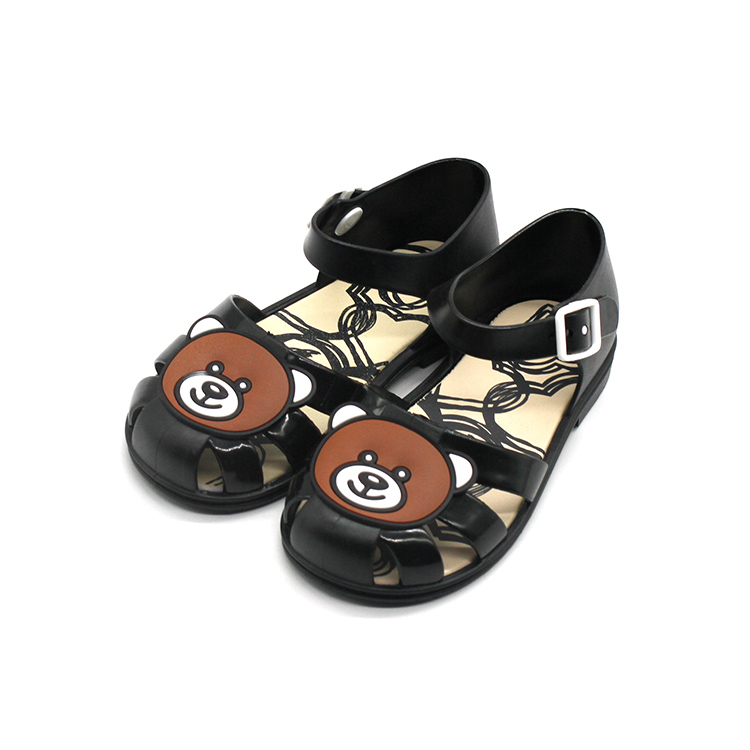 2018 summer new childrens sandals boys and girls jelly shoes cartoon sandals comfortable fashion kids casual beach shoes tide