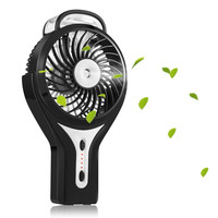 Handheld Mini USB Beauty Humidifier Misting Fan Water Spray Fan Rechargeable Portable Personal Cooling Mist Humidifier