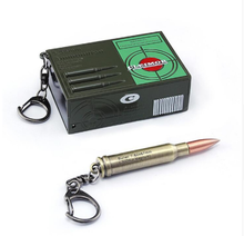 Game PUBG 5.56 Bullet Model Playerunknown Field Battle Cosplay Props Funny Fancy Key Chain Set