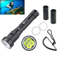 Bicycle Accessories Bike Flashlight Headlamp XM L L2 LED 10000LM Underwater Brightness IPX8 Waterproof 100m Light