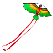 Outdoor Fun Sports New Arrive 110cm / 43inches Parrot Kite / Animal Kites With Handle & Line Good Flying Gift