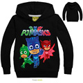 Letter Printing PJMASKS Baby Boys Fashion Hoodies Long SleeveT-shirts Children Coats Girls Cartoon Cute Tops