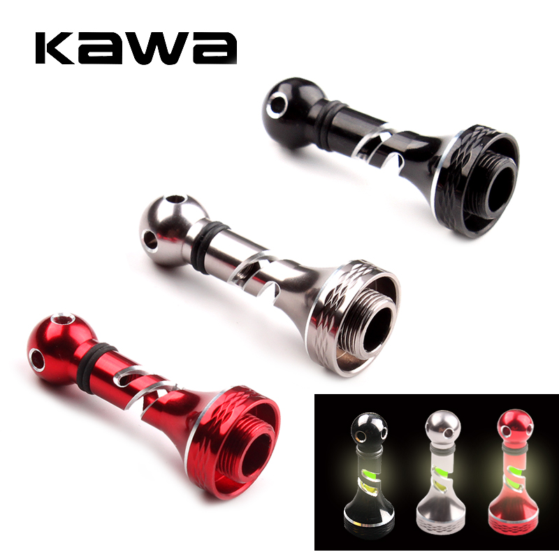 Kawa New Fishing Reel Stand Suit For Shimano Spinning Reel Handle Accessory With Luminous Stick Weight 7.4g Length 46mm