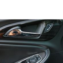 Lsrtw2017 Stainless Steel Car Inner Door Bowl Trims for Chevrolet Malibu XL 2012 2013 2014 2015 2016 2017 2018 2019 2020
