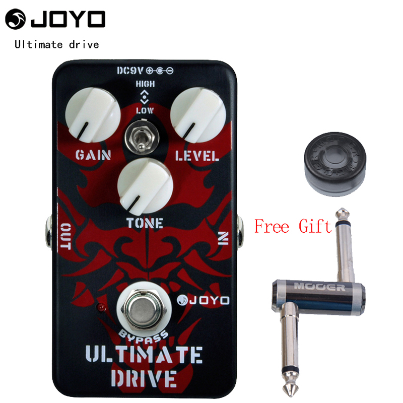 Joyo JF 02 Ultimate Drive Electric Guitar Pedal Effect Box with True Bypass One MOOER PC