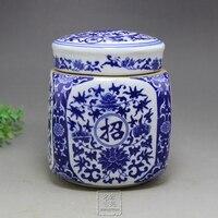 Qing Qianlong tè in porcellana pot quattro desiderio felice di fare soldi A Mano Arredamento Per La Casa artigianato