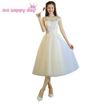 53f41887f Coral cariño tul corto vestidos de fiesta con cuentas de encaje volantes  vestidos fiesta fotos reales LSX135