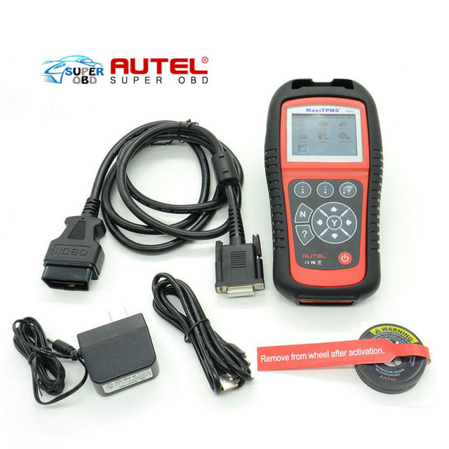 HOT! Original Autel TPMS Diagnostic and Service Tool MaxiTPMS TS601 One Year Free Update on the Internet by Free Shipping