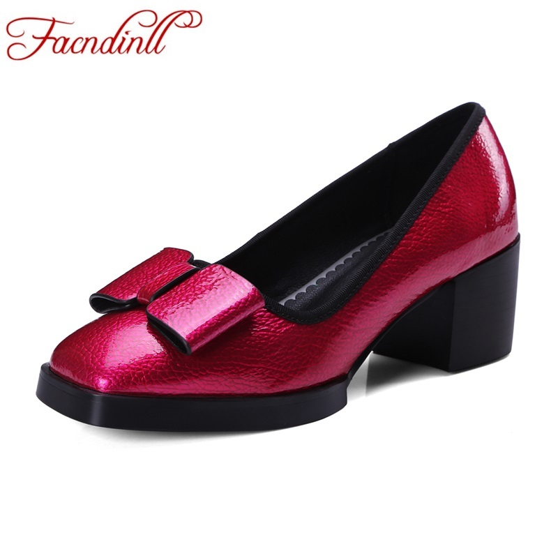 FACNDINLL new 2017 fashion spring summer genuine leather shoes woman pumps sexy high heels women dress party wedding shoes woman