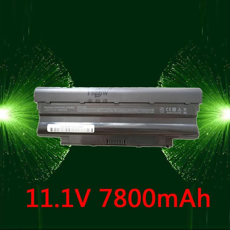 купить HSW 7800mAh J1KND Battery For DELL Inspiron 13R 15R 17R N3010 N3110 N4010 N5010 N7010 N5110 N7110 N5030 M411R M501R N4050 M501R по цене 2250.72 рублей