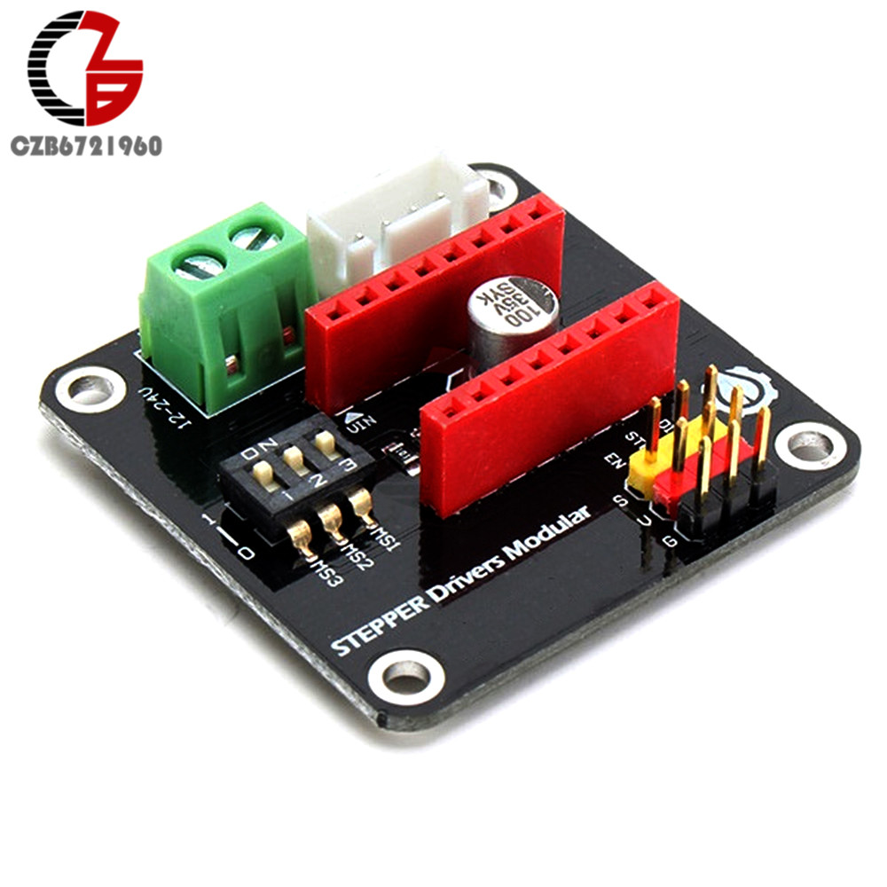 купить A4988DC 12V 24V 5V 42 Stepper Motor Driver Module Step Motor Driver Development Board DRV8825 for Arduino UNO R3 3D Printer DIY онлайн