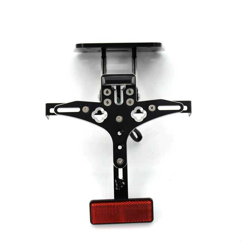 Motorcycle CNC Aluminum Alloy Adjustable License Plate Holder Bracket For YAMAHA YZF R3 YZF-R25 MT03 MT-03 2015-2016 cnc aluminum motorcycle accessories rearset base foot pegs rear for yamaha yamaha yzf r3 yfz r3 mt 03 mt03 mt 03 2015 2016