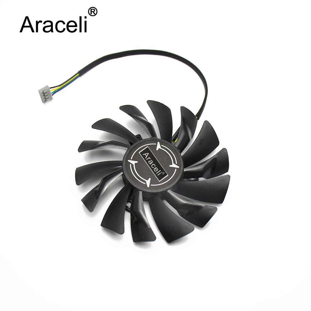PLD09210S12HH 12V 0.40A 4Pin 87mm GTX1060 <font><b>Mini</b></font> For MSI <font><b>GTX</b></font> <font><b>1060</b></font> AERO ITX Graphics Card Cooler Cooling Fan image