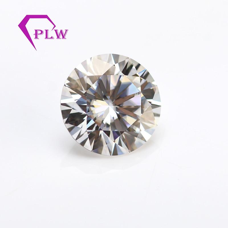 Qualité supérieure GH couleur 7.5mm 1.5ct VVS1 VVS2 laboratoire diamanti forme ronde taille brillant mossanite lâche au lieu de vrai diamant