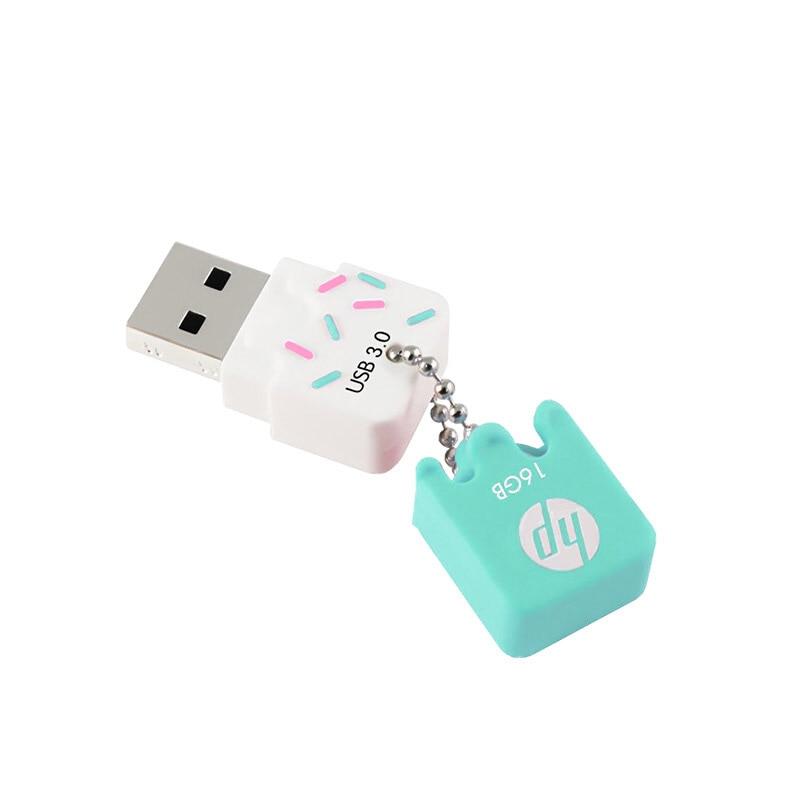 Clé USB HP 16 Go 32 Go 64g Clé USB 3.0 X778W Clé USB en silicone - Stockage externe - Photo 4