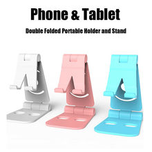 Soporte giratorio para teléfono móvil y tableta en 4 colores para iphone soporte Universal de escritorio para móvil soporte para mesa de soporte móvil