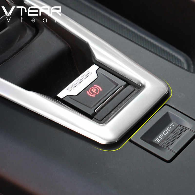 Vtear para Peugeot 3008 5008/GT accesorios 2018 2019 2020 perilla de marchas para coche panel embellecedor cubierta ABS cromo productos para automóviles interiores