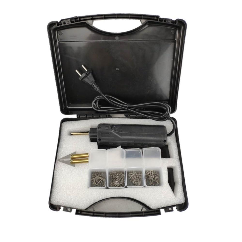 Grampeador quente pára-choques do carro fender carenagem soldador kit de reparo plástico portátil ferramentas de reparo