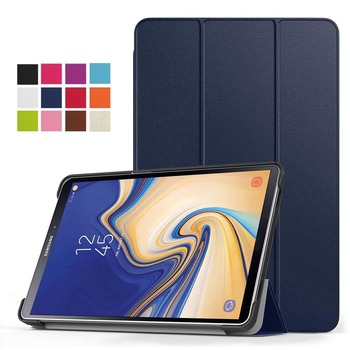 50Pcs/lot Ultra Slim-Shell Stand Cover Case For Samsung Galaxy Tab S4 10.5 inch 2018 (SM-T830 Wi-Fi/SM-T835 4G LTE) Tablet