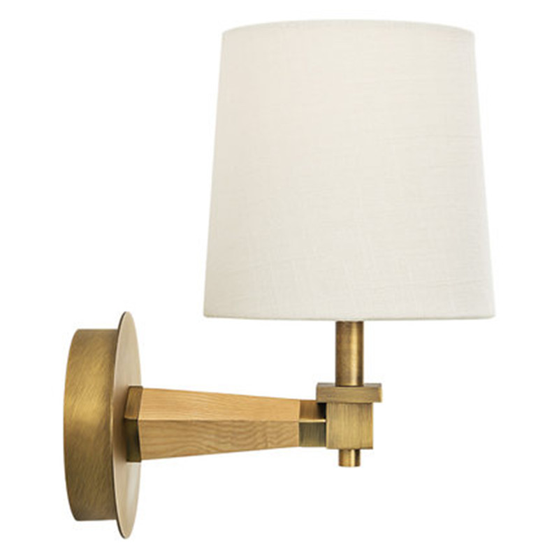 Simple Modern Wall Sconce Fabric Shade LED Wall Lamps ... on Modern Wall Sconce Lights id=55146