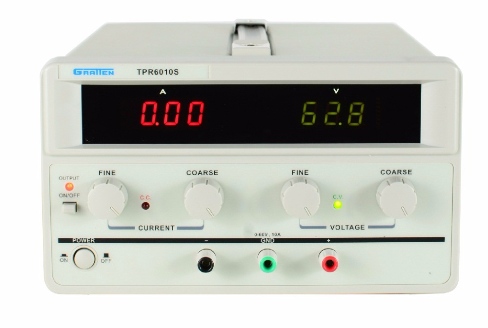 ATTEN TPR6010S Single Channel output ATTEN TPR6010S linear high power Regulated DC power supply 600W Variable 0-60V / 0-10A