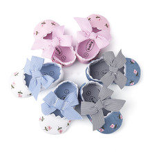 2019 Floral Embroidery Baby Shoes For Newborn Baby