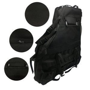 Image 5 - Chuang Qian 2X Roll Bar Tool Storage Bag Multi Pockets Saddlebag Organizers Cargo for Jeep Wrangler JK TJ LJ & Unlimited 4 Door