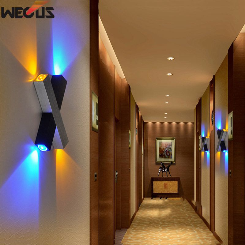 Direct Selling, X-shaped Wall Lamps, LED Wall Lamp, Backdrop Lights, Aisle / Bedside Lamp, Patented Design Models