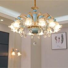 Dining Room Chandelier Light Modern Chandelier Lighting Bedroom Crystal Lamp Living Room Lights Nordic Decoration Lamps Home