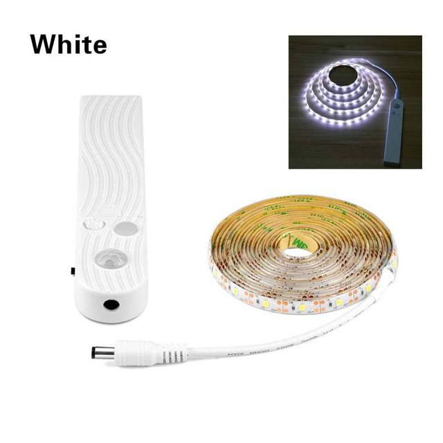 LED Cabinet light Wireless PIR Motion Sensor LED Strip SMD 2835 60leds/m Under bed Beroom Closet Wardrobe Stairs Emergency light