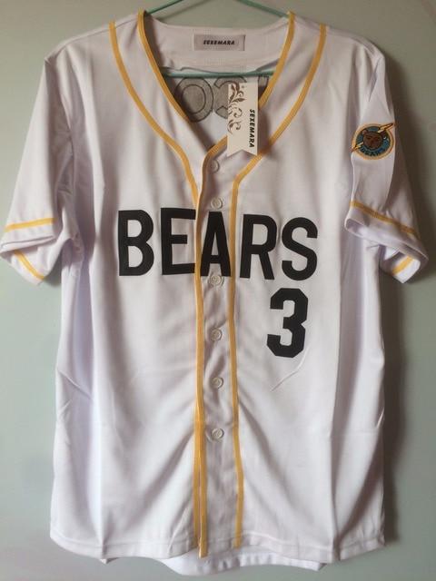 Retro Bad 2018 custom number baseball jerseys bad bears chicos bail