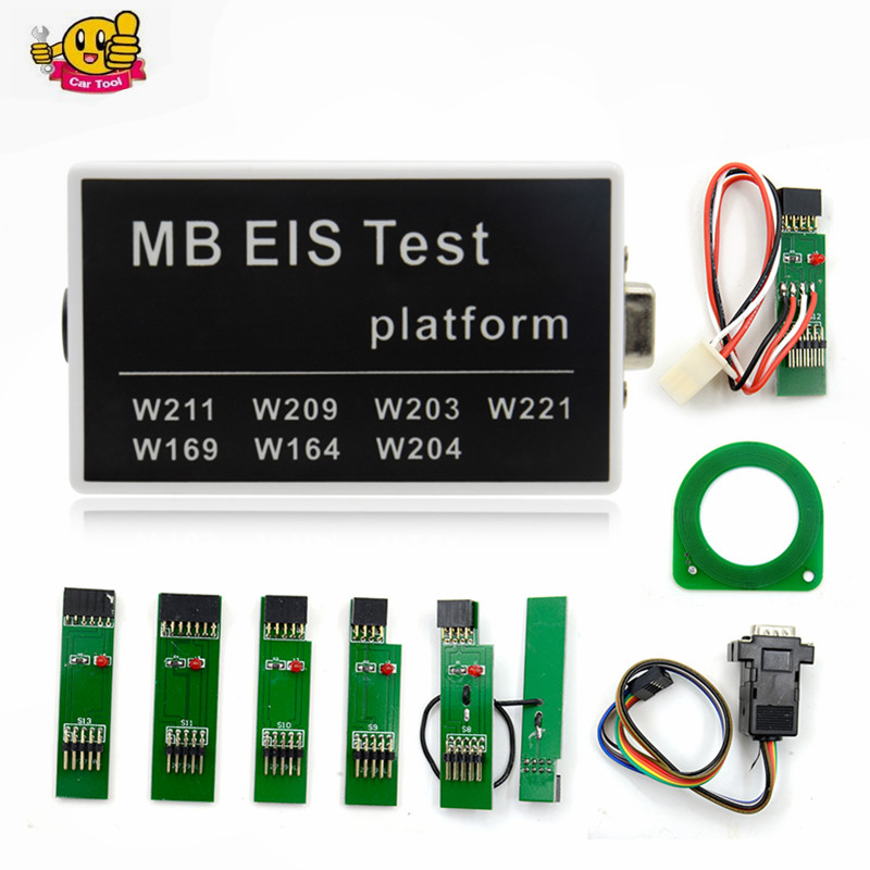 For NEW MB EIS W211 W164 W212 MB EIS Test Platform MB Auto Key Programmer For Benz Free Shipping 2016 new arrival key replacement for mercedes benz ak500 key programmer external hdd 320g free shipping