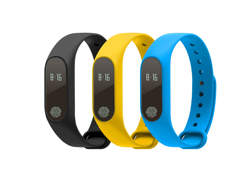 Heart rate monitoring smart band M2 Waterproof IP67 sms call reminder For IOS Android xiaomi font