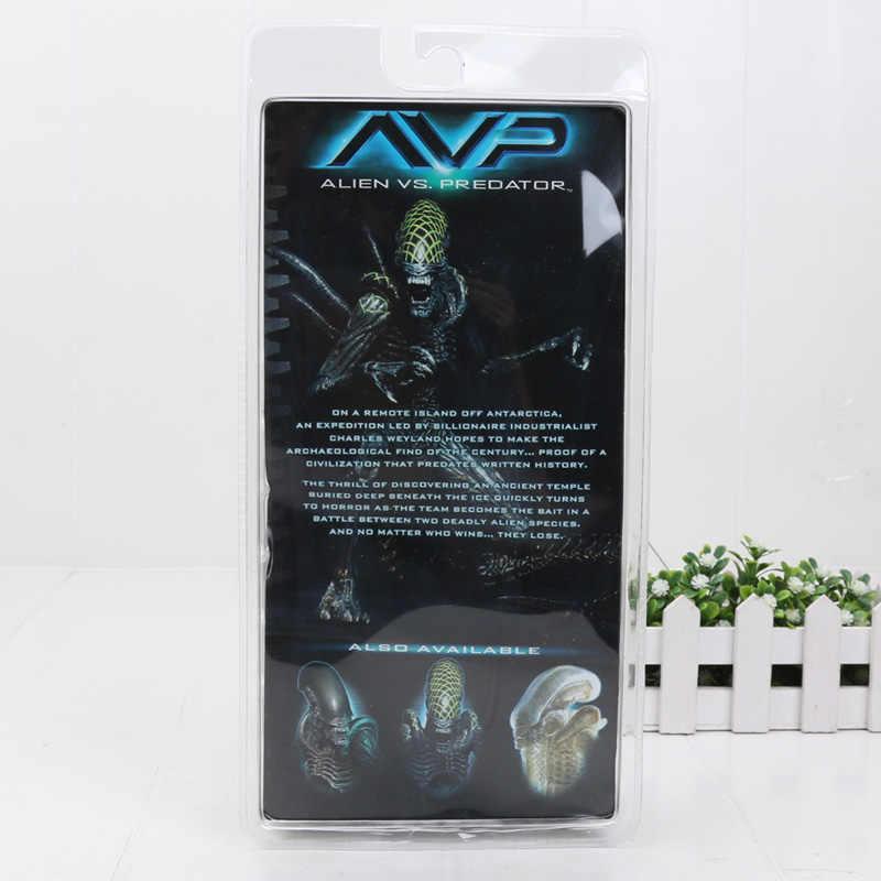 18 см инопланетянин NECA против Хищника Xenomorph Воин сетка собака инопланетянин ПВХ фигурка Коллекционная модель игрушки Детский подарок