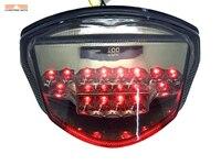 Caja de luz trasera de freno LED para motocicleta Smoke para Suzuki GSXR1000 GSXR 1000 2007 2008 K7|case for -