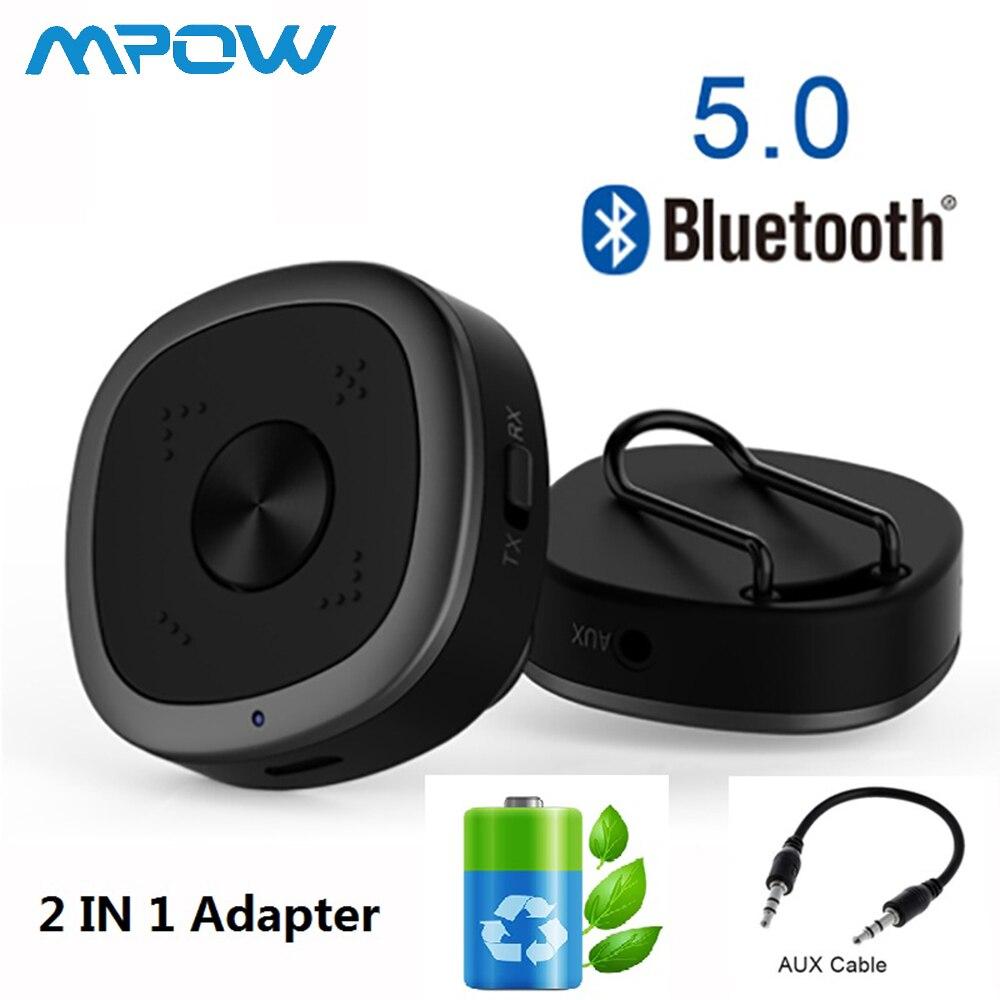Récepteur émetteur Bluetooth 5.0 BTI-031 amélioré Clip Portable HD APTX voiture TV Audio maison sans fil adaptateur Bluetooth CSR8675