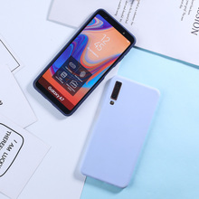 Candy Color Case For Samsung Galaxy J5 2017 Cases For Samsung A6 A8 Plus A7 2018 A50 A3 A5 A7 J3 J5 J7 2016 2017 Silicone Covers все цены
