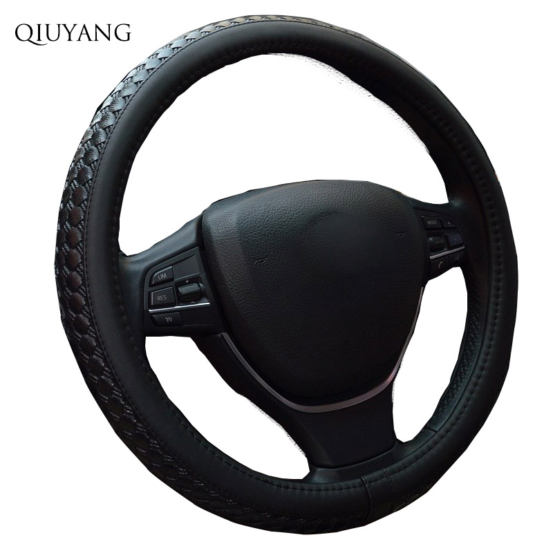 For Suzuki EXCELLE Cartoon Leather Vehicle Wheel Cover For BORA Trendy Female Steering Wheel Cover 38cm / 15inch car styling