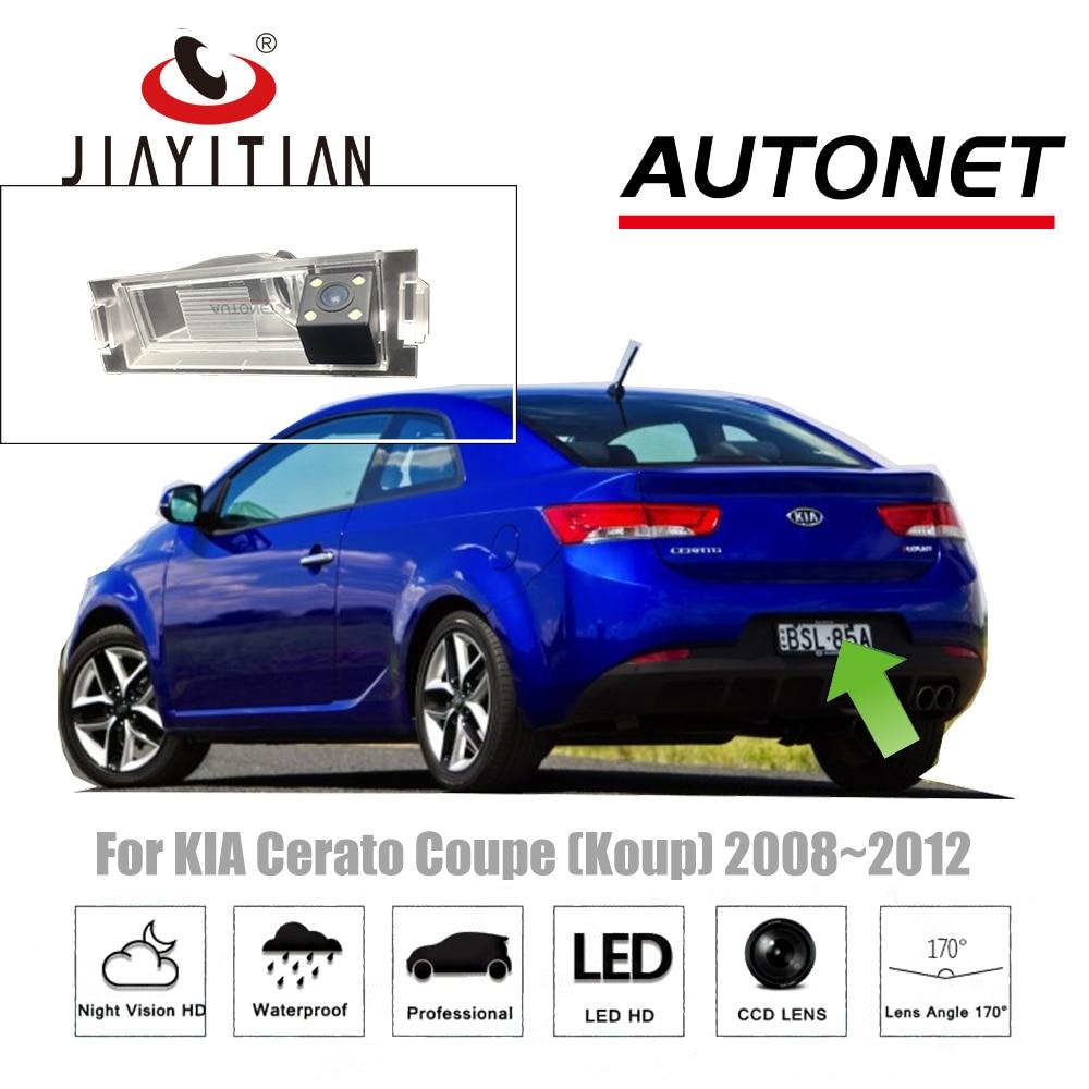 JiaYiTian Rear View Camera For KIA Cerato Coupe Koup 2008~2012 CCD/Night Vision/License Plate camera reverse camera backup CAM