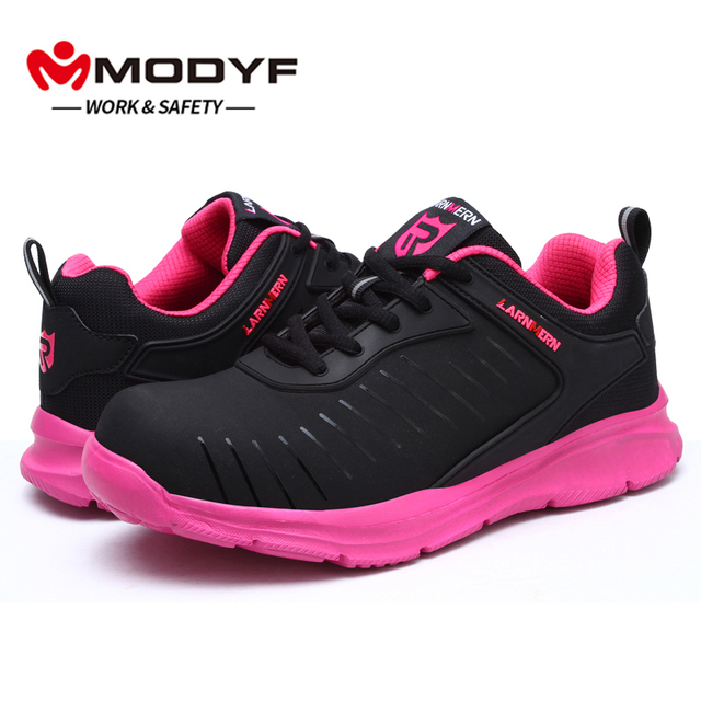 Women S Safety Shoes Construction Outdoor High Top Steel Toe Cap